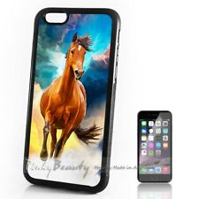( For iPhone 4 / 4S ) Back Case Cover P11499 Horse