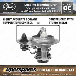 Gates Thermostat Kit for Mazda 626 121 323 Astina BG BA 626 B-Serie Bravo B2600