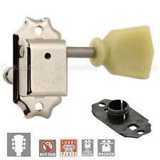 New Gotoh Sd510-Sl Mg Locking Tuning Keys Set Keystone w/ C-A-R-D - 3x3 - Nickel