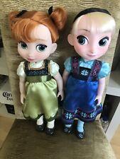 Disney Frozen Anna y Elsa Muñecas Animator
