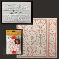 Cuttlebug Embossing folders - Brocade folder set floral Anna Griffin Wedding
