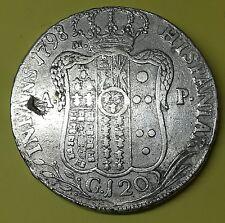 FERDINANDO IV  120 GRANA 1798 REGNO DI NAPOLI