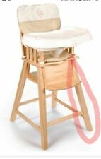 FRONT LEFT Leg - Eddie Bauer Wood High Chair- Replacement  Part Only