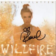 Wildfire by Rachel Platten (Artist) CD Autographed Booklet Fight Stand By You