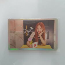 Twice SIGNAL 4th Mini Album Official Nayeon Na yeon Special Photocard