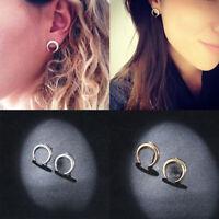 1 Pair Fashion Jewelry Women Lady Geometric Crescent Moon Ear Stud Earrings