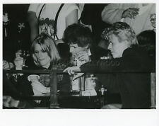 DAVID BOWIE KEITH RICHARDS THE ROLLING STONES  80s VINTAGE PHOTO ORIGINAL