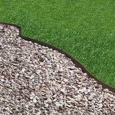 Recycled Rubber Lawn Edging   Thinline Border Path Walkway Landscaping   6m  PACK