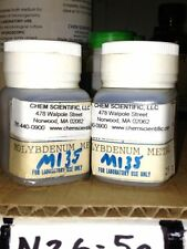 Molybdenum Metal, two 25g packages