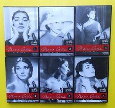 6 cd maria callas la divina,teatro,opera,theater,aida,casta diva,tosca,macbeth,f
