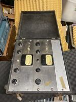Ampex S3160A & 350P Reel To Reel & Preamps W/ Travel Cases AFSAV-510A - Untested