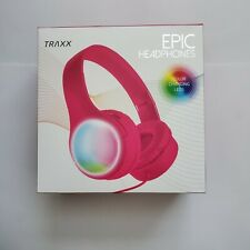 New Color changing Led over the ear padded and adjustable headphones