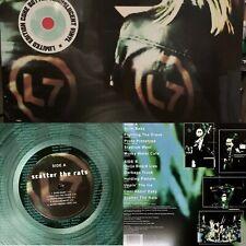 L7 - Scatter The Rats Rare Coke Bottle Green Vinyl