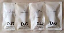 Dolce & Gabbana D & G #1 Le Bateleur #3 L'imperatrice #6 #14 #18 5 Samples