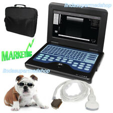 Portable Veterinary Laptop Ultrasound Scanner Machine,3.5Mhz Convex Probe Animal
