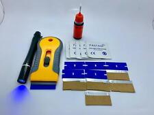 Glass Furniture Repair Kit, 10g UV Glue, Squeezable Bottle, Pen Shape UV Torch
