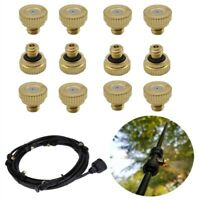 Brass Misting Nozzles For Cooling System 0.2 mm-0.6mm Garden AU