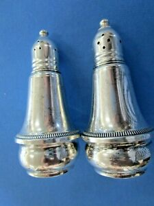 Vintage Duchin Creation Sterling Silver Weighted Salt & Pepper Shakers