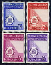 VIETNAM, SOUTH Sc#92-5 1958 UNESCO Paris Headquarters Opening MNH