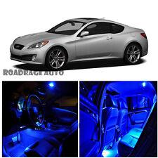 For 10-12 Hyundai Genesis Coupe Interior HID LED Kit Light Bulb BLUE