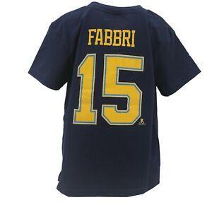 St. Louis Blues 2017 Winter Classic NHL Reebok Kids Size Robby Fabbri T-Shirt