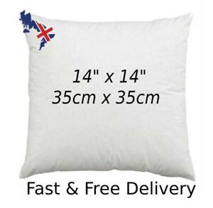 Cushion Pads Fillers Inners 14x14 Inch 35 x 35 cm Inserts Extra Deep Filled Sofa