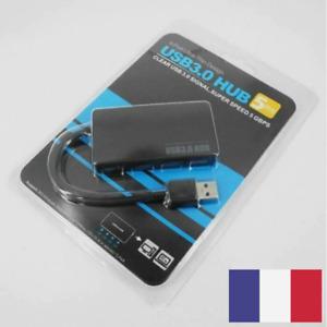 Répartiteur USB HUB 4 Ports USB3.0 ultra-mince 5 Gbps 30CM