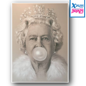 Queen Bubblegum Poster Print Colour A3 A4 Size BUY 2 GET 1 FREE UK SELLER
