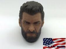 1/6 Wolverine Head Sculpt Logan For Hot Toys TBLeague PHICEN Male Figure ❶USA❶