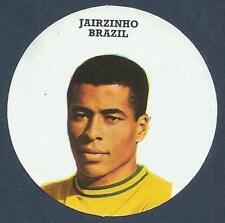 FKS 1972/73 Adesivo Circolare - # o-BRASILE-JAIRZINHO