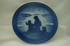 Royal Copenhagen Christmas Plate 1958 Annual 1958 Sol Over Gronland Hansen