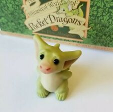 """""""I think I Forgot"""" Whimsical World of Pocket Dragons by Real Musgrave with Box"""