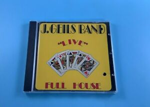 The J. Geils Band Live - Full House - Musik CD Album