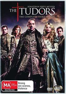 The Tudors : Season 3 (DVD, 2009, 3-Disc Set) new sealed buy now