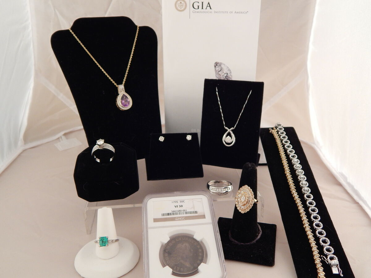Authentic Jewelry and Coin