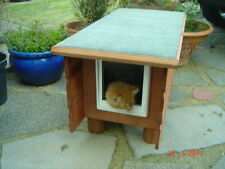 Outdoor wooden shelter house kennel Cat Small Dog Rabbit med (fr) various