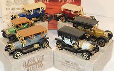 Classic Car Miniatures Cars Set of 6 original package (5575)