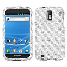 Silver Crystal Daimond BLING Hard Case Cover for T-Mobile Samsung Galaxy S II 2