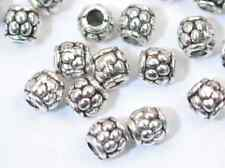 100pcs  Tibet Silver Cute Spacer Beads 4mm SH1028