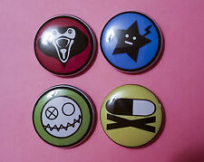 "4 1"" My Chemical Romance Killjoys Danger Days Gerard Way pinback badges buttons"