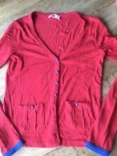 Who's that GIrl Gr.S 34 36 38 XS Strickjacke Jacke rot Pulli Shirt ❤️🌼😉