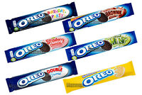 x 6 MIXED OREO CHOCOLATE BISCUITS PACKS DIFFERENT TYPES FRESH STOCK ORIGINAL NEW