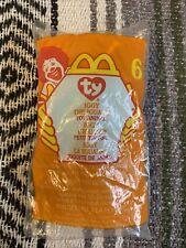 IGGY THE IGUANA #6 McDonalds Toy Retired 1999 NEW SEALED Ty Teenie Beanie Babies