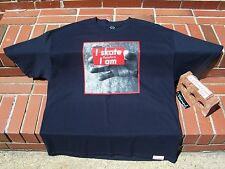 (NEW) Diamond Supply Co Skateboard I SKATE THEREFORE I AM Blue Men's T-Shirt XL