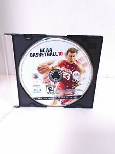 NCAA Basketball 10 PlayStation 3 PS3 2010 Disc Only Professionally Polished
