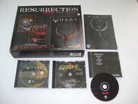 RESURRECTION PACK for QUAKE IBM Pc Cd Rom Original BIG BOX - FAST POST