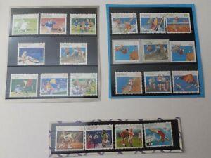 (21 stamp set) .Australia Post 1989 ,1990, 1991 Sports Series Mint unhinged EE5