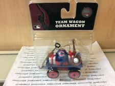 Team Wagon Ornament Chicago Cubs