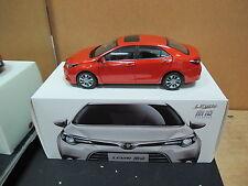 Toyota GAIC Corolla Levin E170 1/18 model car orange free shipping