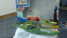 STAR WARS VEHICLE 2002 ATTACK OF THE CLONES ZAM WESSEL SPEEDER
